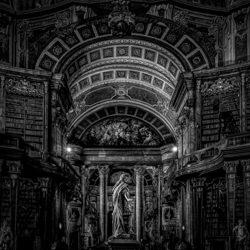 Austrian National Library-Gus Fine Art-silver-ARCHITECTURE-Historic -5162