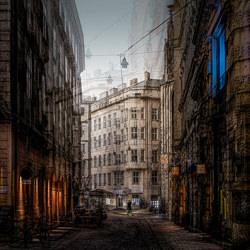 Streets of Vienna, my vision-Gus Fine Art-bronze-FINE ART-Other -4754
