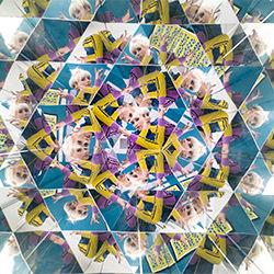 das Kaleidoskop-Mathias Kniepeiss-Bronze-FINE ART-Abstract -5214