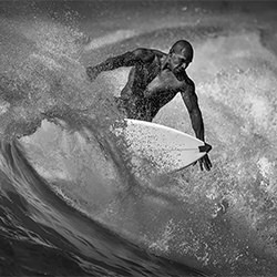 Surfer-Studie-Steve TURNER-Finalist-FINE ART-Portrait -5446