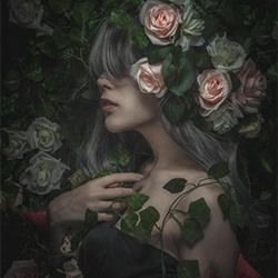 Live with Rose-T Nefeltary-finalist-FINE ART-Portrait -5483