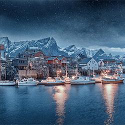 Cover von Blizzard-Alexander Vershinin-Silber-FINE ART-Landscape -5687