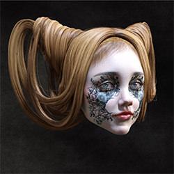 Fast menschlich-Patrizia Burra-Silber-FINE ART-Portrait -5675