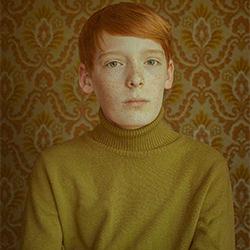Back to the 70s-Bella von Einsiedel-bronze-FINE ART-Portrait -5274