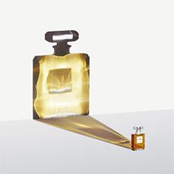 Chanel Parfum-Cheuk Lun Lo-Gold-WERBUNG-Produkt / Stillleben-5642