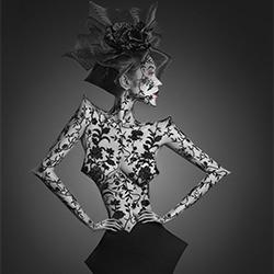 Arbeiten mit den Winkeln-Ivan Duran-Silber-FINE ART-Other -5760