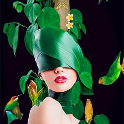 Green Savana-Priscilla Vezzit Ferreira-finalist-FINE ART-Collage -5543