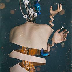 Femmes de la Natur-Bella von Einsiedel-finalist-FINE ART-Collage -5571