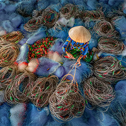 Blaue Netze-Chin Leong Teo-Silber-MENSCHEN-Lebensstil -5775