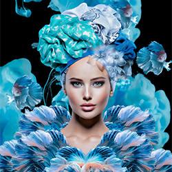Porcelain-Priscilla Vezzit Ferreira-bronze-FINE ART-Collage -5323