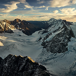 Tasman Gletscher-Stephan Romer-Bronze-NATURE-Aerial -5307
