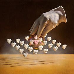 \Heart shape\ metaphors-Wesley Dombrecht-bronze-FINE ART-Still Life -5324