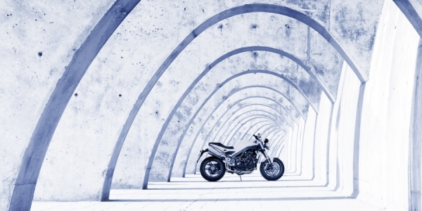 Photograph James Callaghan Triumph Speed Triple Motorcycle on One Eyeland