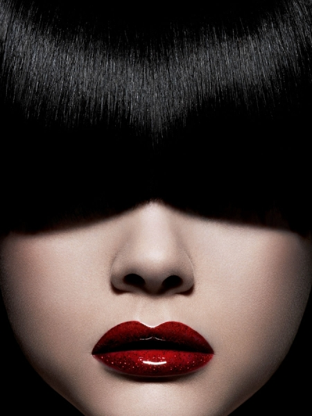 Photograph Lagel Cyril Red Lips on One Eyeland