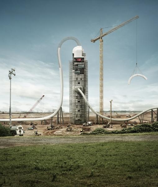 Photograph John Fulton Build The New Energy 3 on One Eyeland