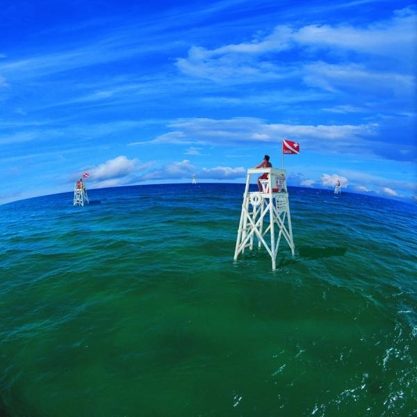 Photograph Chip Henderson Ocean Lifeguards on One Eyeland