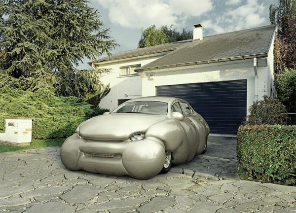 Photograph Frieke Janssens Car on One Eyeland