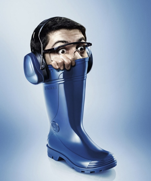 Photograph Gustavo Lacerda Blue Boot on One Eyeland