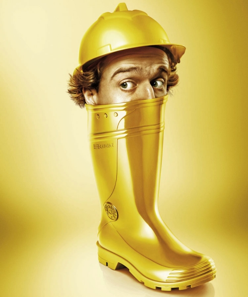 Photograph Gustavo Lacerda Yellow Boot on One Eyeland