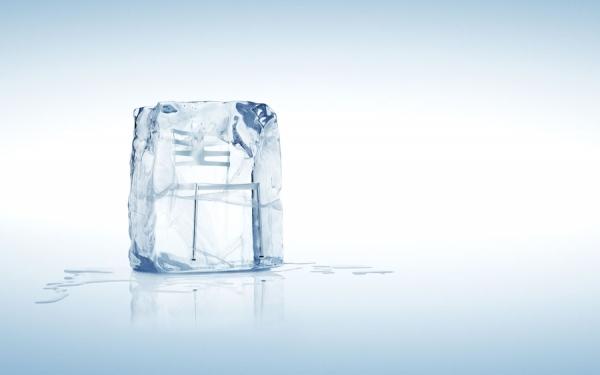 Photograph Egon Gade Fritz Hansen, Ice on One Eyeland