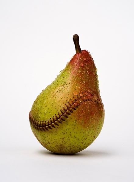 Photograph Jose Laino Baseball Pear on One Eyeland