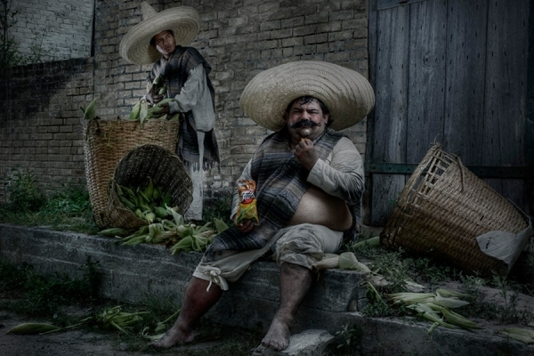 Photograph Gaston Saldana Consumer Revolution on One Eyeland