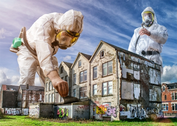Photograph Adrian Sommeling The Worker 4 on One Eyeland