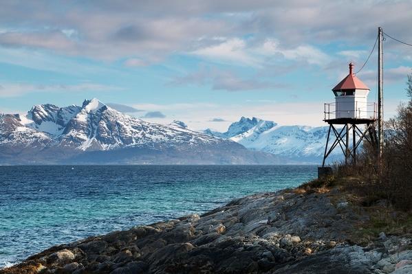 Photograph Barbara Havlikova Lighthouse on One Eyeland