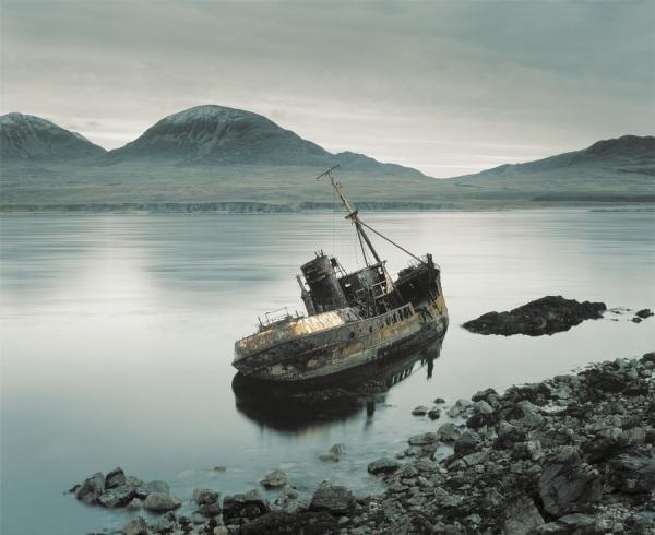 Photograph David Boni Islay Shipwreck on One Eyeland