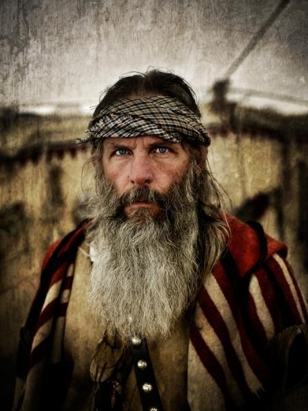 I8 Mountain Man Beardy Man Montana Photographed
