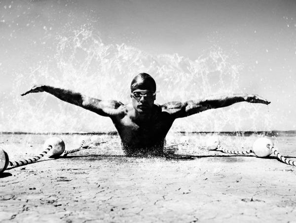 Photograph Giuliano Bekor Athletes on One Eyeland