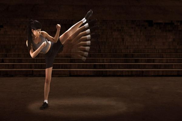 Photograph Vincent Koh Fly Girl on One Eyeland