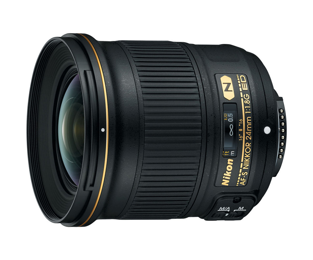 Photography News - Nikon's Newest three lenses to hit the markets soon AF-S NIKKOR 24mm f/1.8G ED