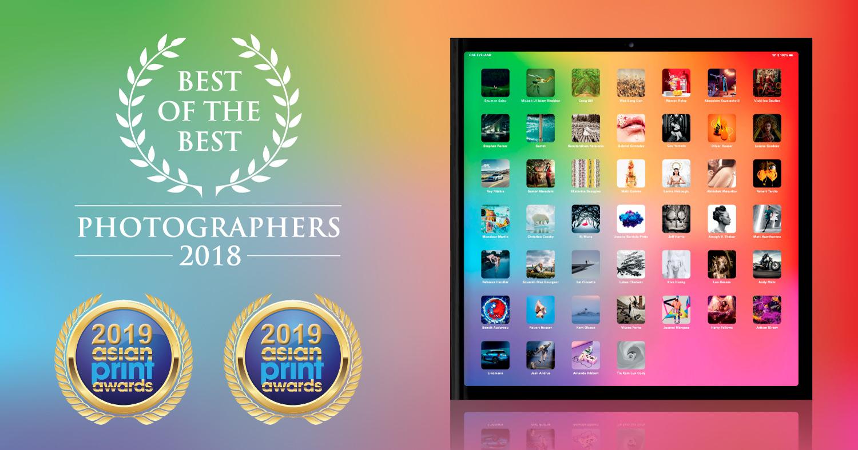 Fotografie-Nachrichten - Das Buch der besten Fotografen gewinnt 2 Goldmedaillen. Beste der besten Fotografen: Gedruckt in Goldqualität