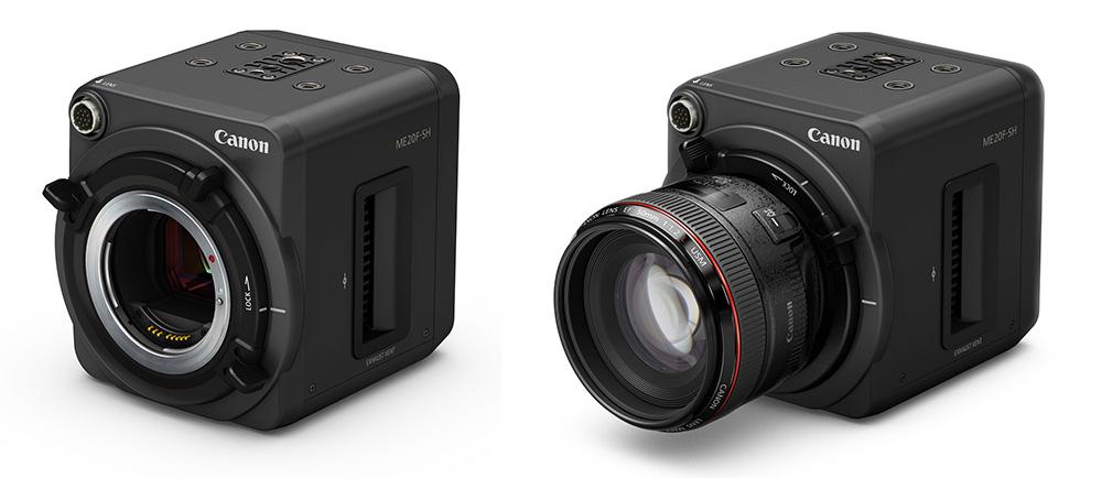 Fotografie-Nachrichten - Die neue ME20F-SH-Kamera von Canon nimmt Videos mit ISO 4,000,000 Canon ME20F-SH auf