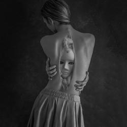 The Soul of a Narcissist-Teodora Dimitrova-silver-black_and_white-1530