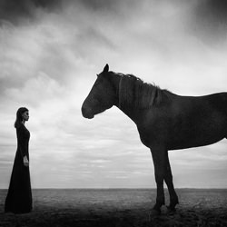 Dialogue of two worlds-Mikhail Potapov-finalist-black_and_white-2664