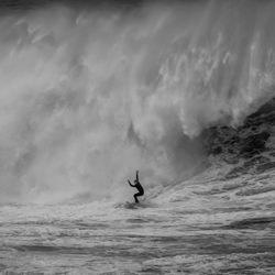 Wildwasser-Albtraum-Steve Turner-Silber-Schwarz-Weiß-4537