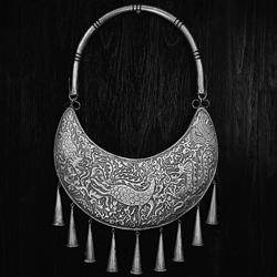Chinese Miao wedding silver-Eldon Lau-finalist-black_and_white-6447