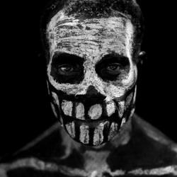 Skeleton warrior-Harry Skeggs-silver-black_and_white-6599