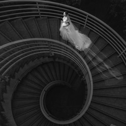 Spiral staircase-Jack Wong-bronze-black_and_white-6389