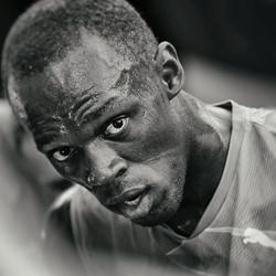 Usain Bolt-Marco Benedetti-finalist-black_and_white-6543