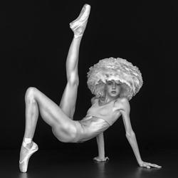 The Dancer-Marco Benedetti-bronze-black_and_white-6418