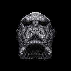 The Alien Guardian-Marco Benedetti-bronze-black_and_white-6419