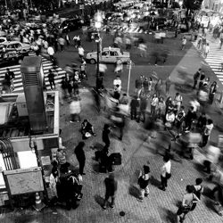 Shibuya Crossing-Clarence Lin-finalist-black_and_white-6444