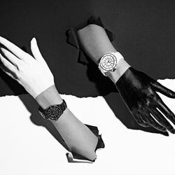 CHANEL Watches-Efraim Evidor-bronze-black_and_white-6431