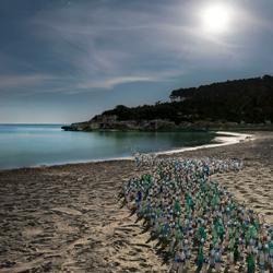Plastic Army Invasion / Coast-Dirk Kruell-silver-fine_art-2993