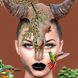 Nature Buffalo Girl-Priscilla Vezzit Ferreira-finalist-fine_art-4144