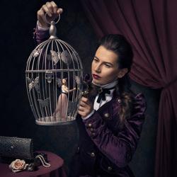 Relationship with Self-Anna Rapcinska-bronze-fine_art-4115
