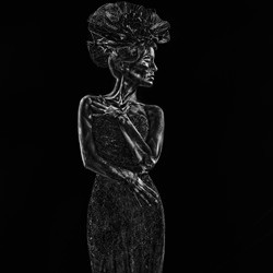 Iron Lady-Ivan Duran-Bronze-fine_art-4070